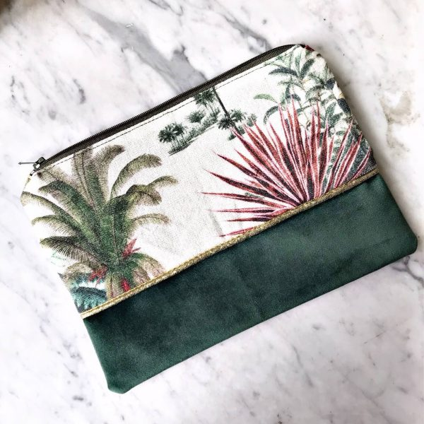 Pochette Jungle vintage recto