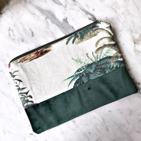 Pochette Jungle vintage verso